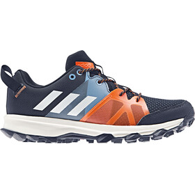 adidas Kanadia 8.1 - Chaussures running Enfant - orange/bleu